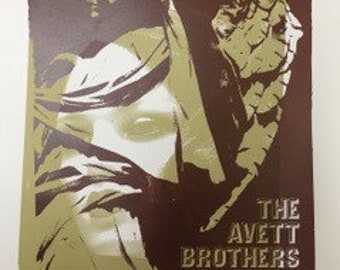 The Avett Brothers Limited Edition Concert Poster
