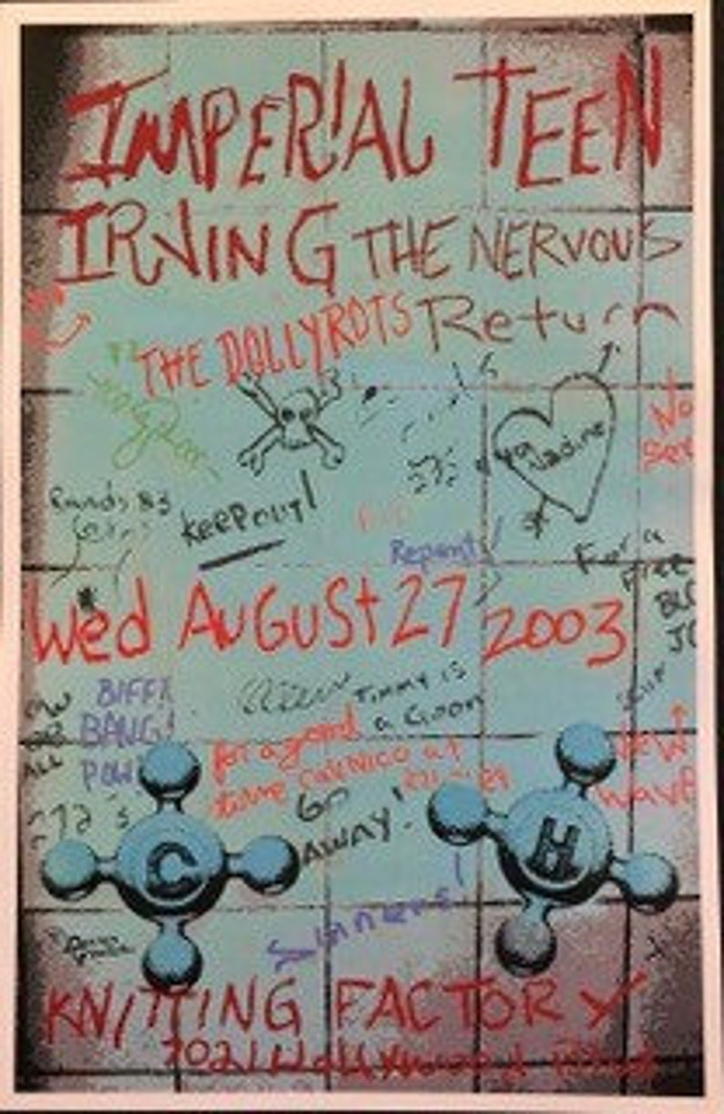 Imperial Teen Concert Poster