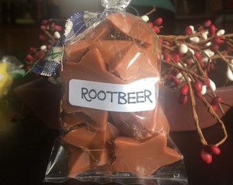 Rootbeer scented wax tarts:-)