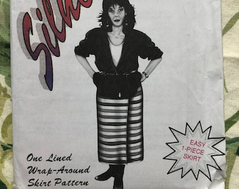Silhouettes by Peggy Sagers Sewing Pattern #2050, Wrap-Around Skirt, Sizes 4 - 18