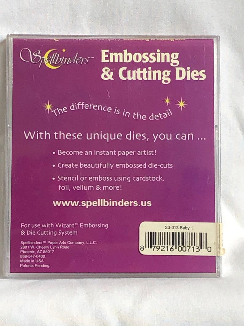 Baby Spellbinders Embossing /& Cutting Dies