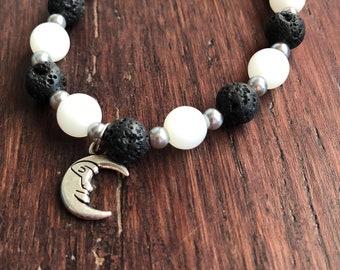 Celestial Moon diffuser bracelet
