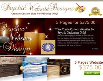 5 Page Custom Website Design