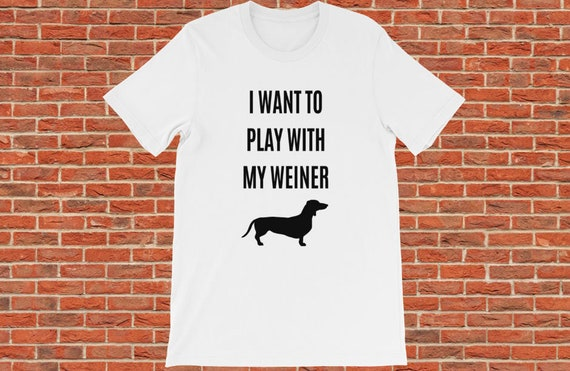 Come To the Dark Side We Have Dachshund Wiener Dog Logo Mens Tee Shirt Pick Size