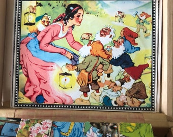 Vintage puzzle from Western Germany