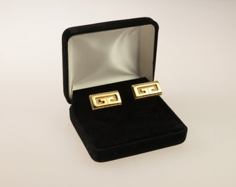 Vintage Signed Givenchy Gold Plated Cuff Link 9e9546fd47