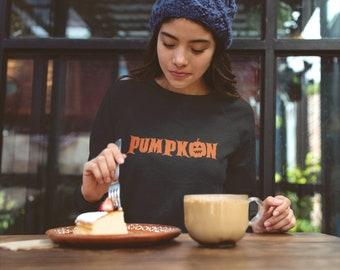 Halloween Sweatshirt, Pumpkin, DDLG, BDSM, Submissive, Fall Fashion, Gift for Her, Girlfriend, Gothic Fashion, Dark Fashion (Sweatshirt)