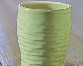 smaller carved porcelain vase