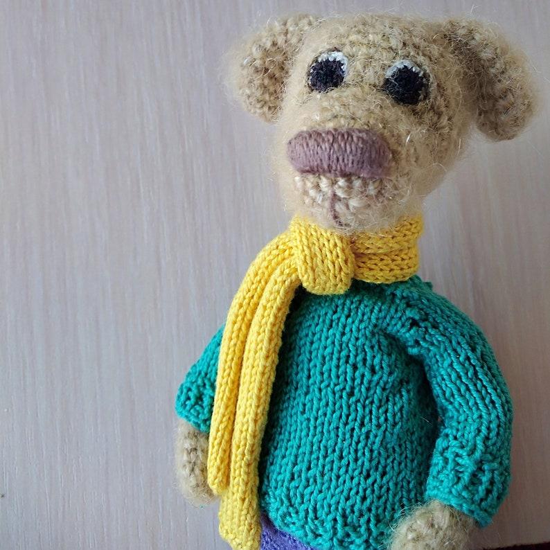 Amazon.com: Little crochet puppy Amigurumi dog keychain Mini toy ... | 794x794