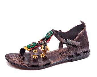 2912bd829 Womens Sandals Womens Leather Sandals Handmade Leather