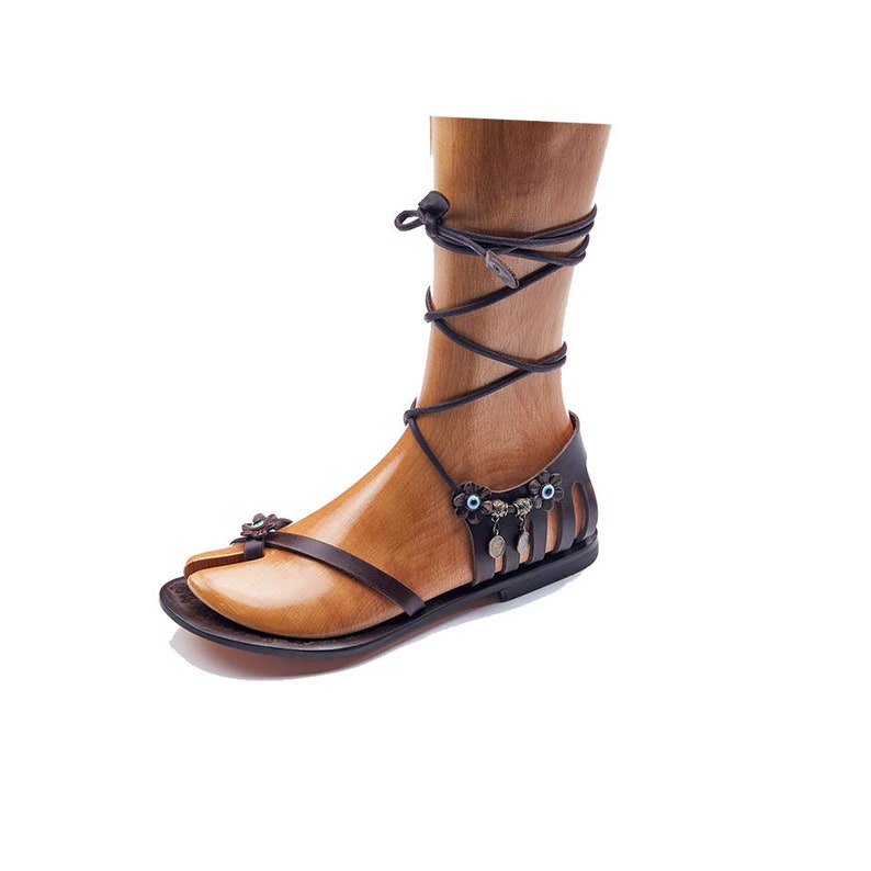 861275a7084e05 Womens Sandals Handmade Leather Strappy Sandals