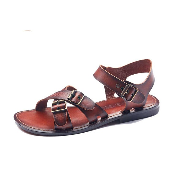 91654bdcb21eb9 Handmade Leather Bodrum Sandals Men High Quality Sandals