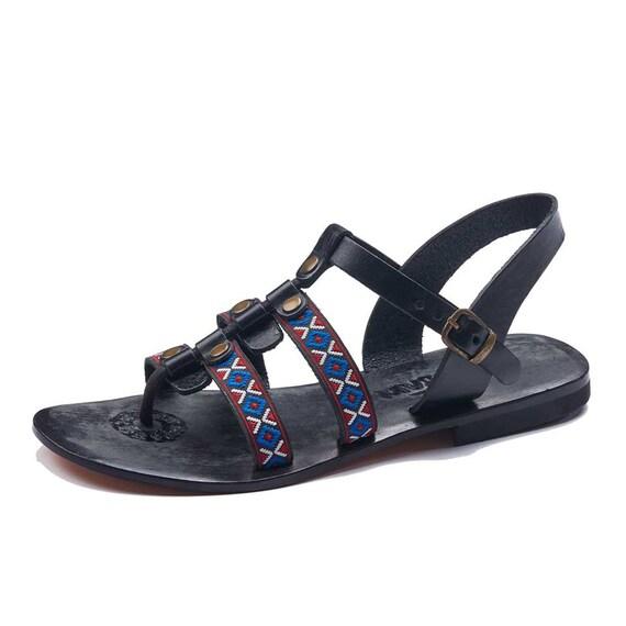 sandales sandales en en sandales femmes cuir cuir Womens RcXqYWdq