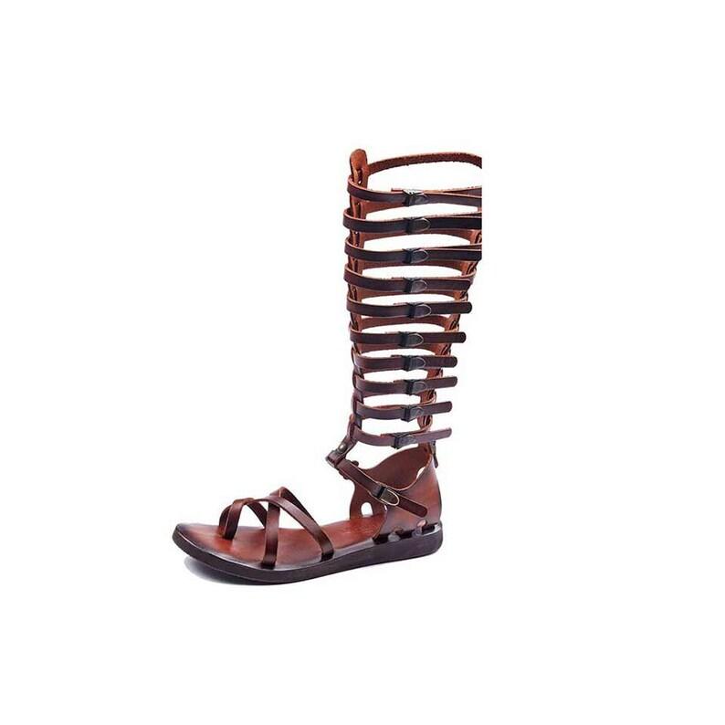 530d1e48b62738 Brown Gladiator Sandals For Women