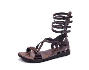 Handmade Leather Gladiator Sandals 616