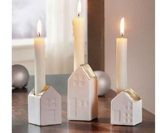 """Set of 3 Candleholders """"Goldi"""" FF775029"""