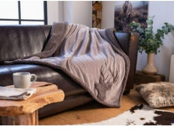 "Fluffy Blanket ""Deer"" FF336491"