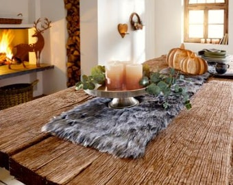 "Table Runner ""Fur Dark"" big FF610008"