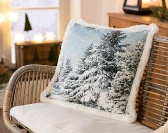 "Cushion Cover ""Glittering Snow"" FF610021"