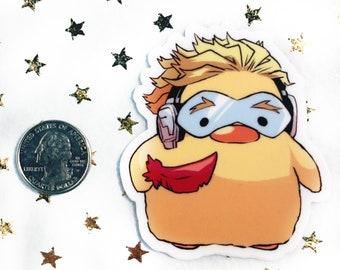 dc8166ad762 STICKER - Chicken Nugget Hawks