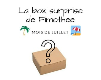 the surprise box of Fimothee