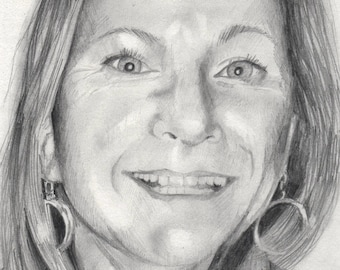 Custom Portraits hand drawn in pencil