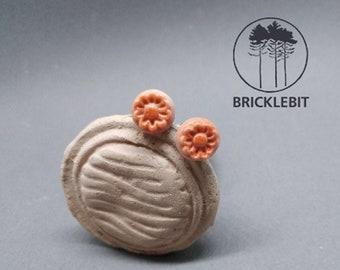 Studs small blossom porcelain flower