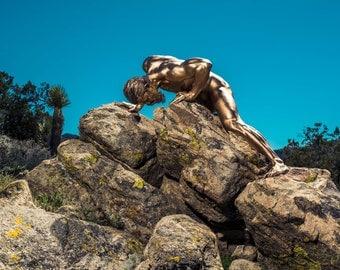 Hard - 24x30 nude male model fine art limited edition print