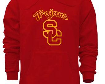 3282a5834 Usc Trojans Hooded Sweatshirt Free Shipping!