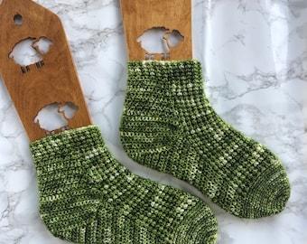 Endor Moon Crochet Socks PDF Pattern // Star Wars Crochet