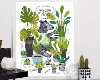 Poster Secret Garden A3