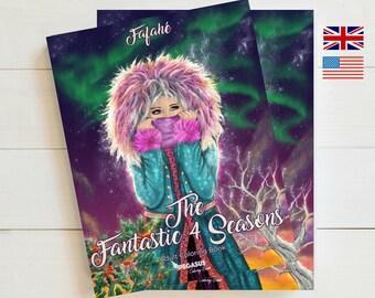 Adult Coloring Book The Fantastic 4 Seasons