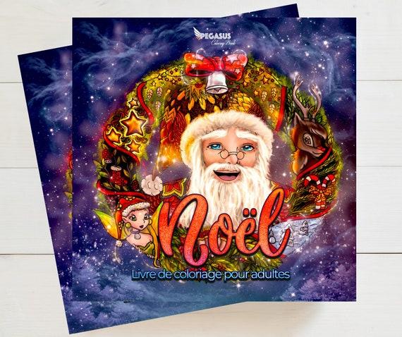 Noel Livre De Coloriage Pour Adultes