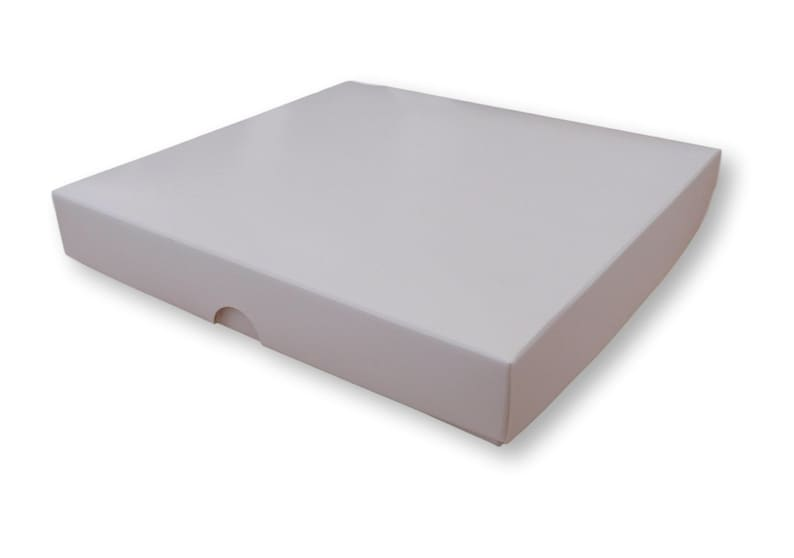 Pack Of 10 7 X 7 White Gift Boxes Greeting Cards Jewellery Cakes Gifts
