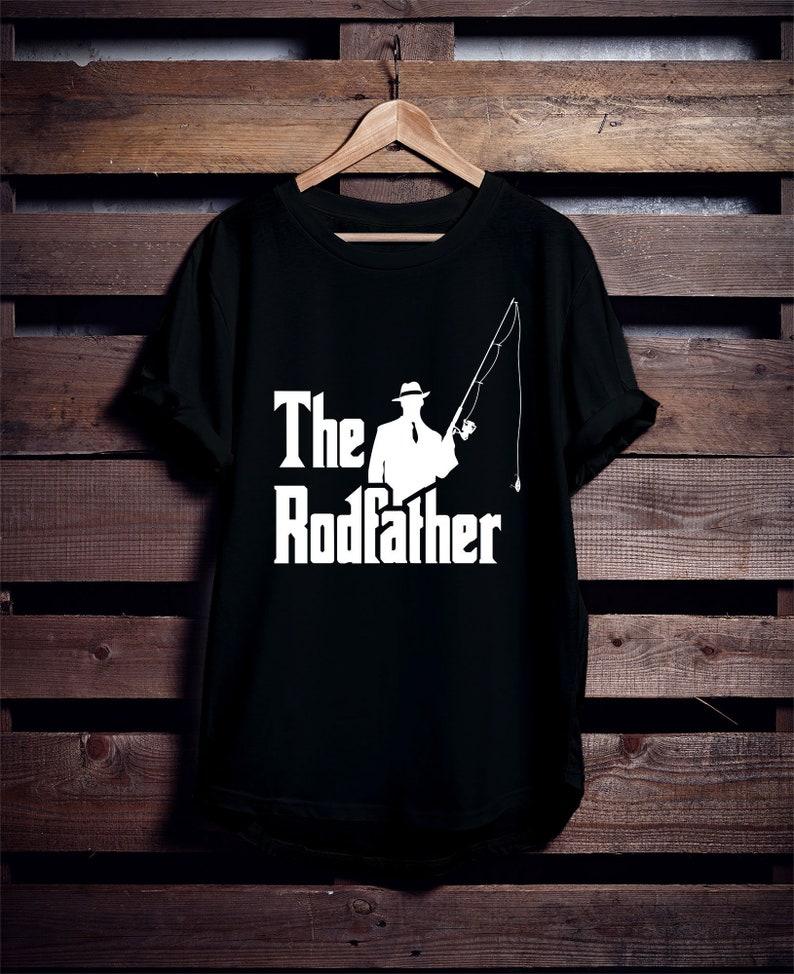 63e8bdfd75 The Rodfather Shirt Fishing T Shirt Fisherman Shirt | Etsy