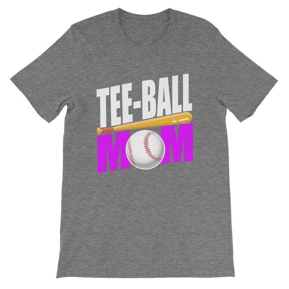 85755bc21 Funny Tee-Ball Mom Tshirt T-ball Shirt Baseball Shirt | Etsy