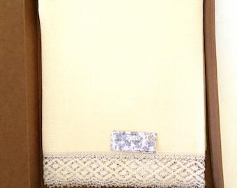 """Linen towel """"crepe"""" 1.14 m X 0.70 M"""