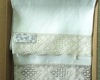 Creps Linen Towel 65 x 70 cm