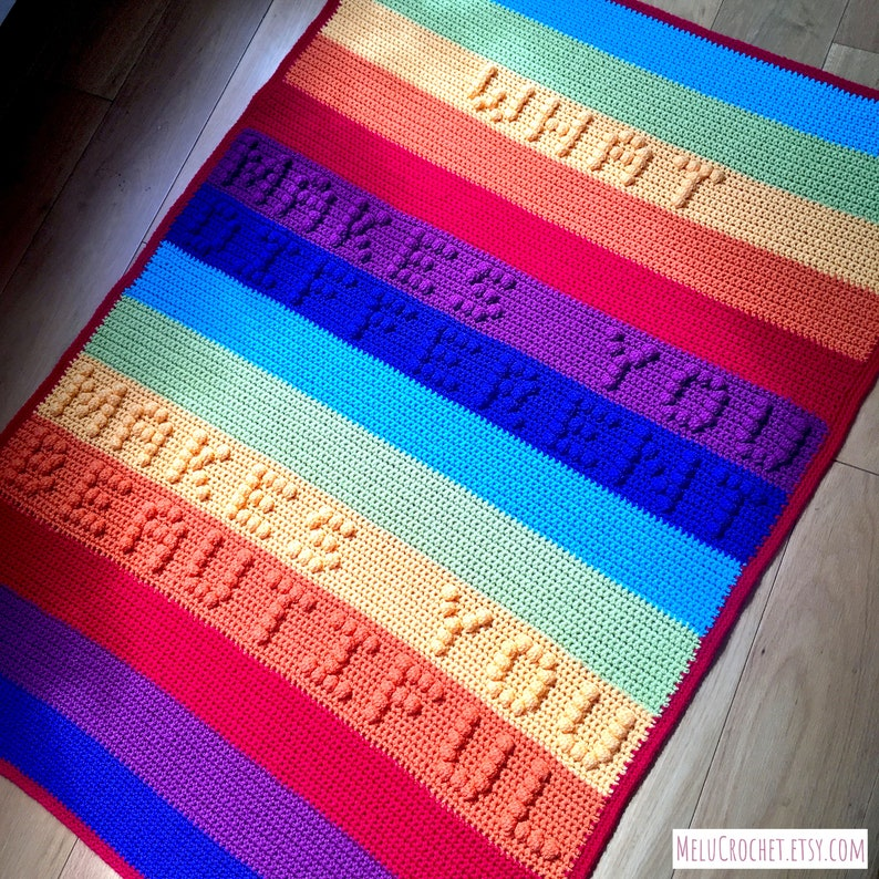 What makes you different makes you beautiful blanket By Melu image 0