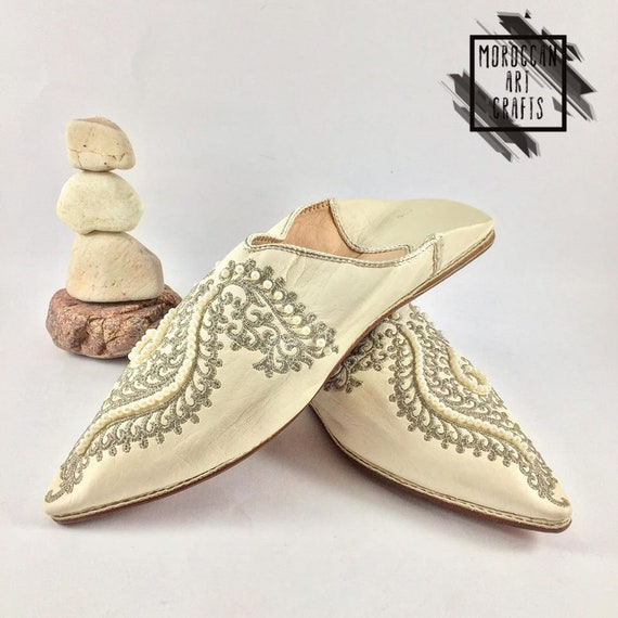 comfort slippers moroccan women Flat babouche moccasin Leather Elegant Shoe for slippers Oxfords shoes Women's Indoor Outdoor amp; Shoes HSqFSax