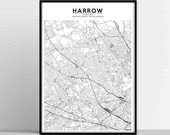 74667b814c15 HARROW City Map