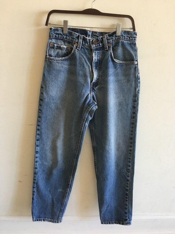 Vintage Levi's Ex-boyfriend jeans.