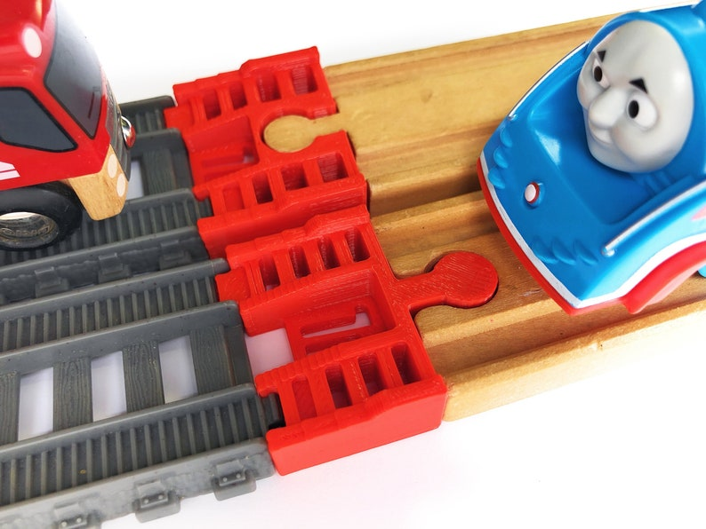 Trainlab Trackmaster 2014 Current To Wooden Railway Train Track Adapter