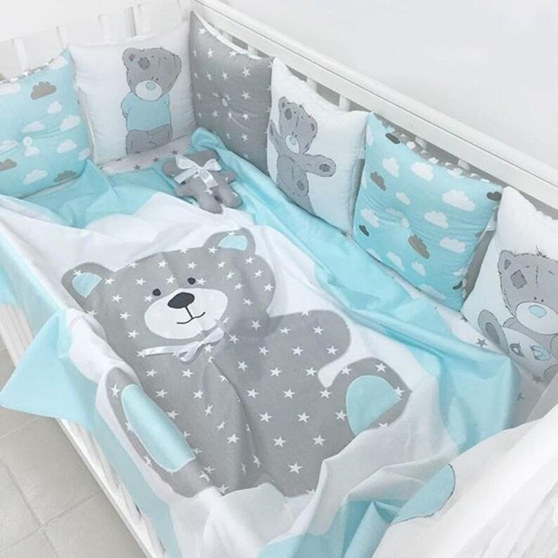 Baby Kinderzimmer Baby Bettwäsche Baby Bettwäsche Junge Etsy