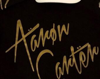 Aaron Carter tour T-shirt