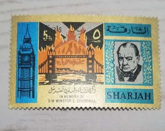 Churchill Postage Stamps- 4