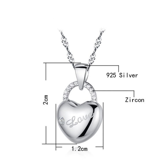 Tuogle London S925 Sterling Silver Rose Flower Necklace Necklace for Girlfriend Anniversary Gift for Her