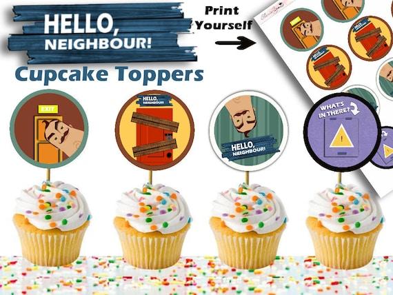 Verjaardag Buurman.Hallo Buurman Verjaardag Hallo Buurman Cupcakes Video Game Verjaardag Verjaardag Cupcakes Hallo Buurman Hallo Buurman Partij Cupcakes