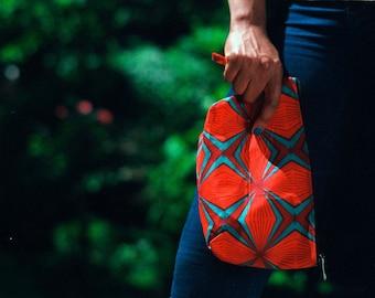iKoYi.co ankara clutch/makeup bag