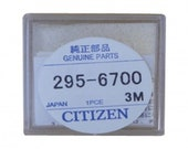 Citizen 295.67 295-6700 Eco-Drive Capacitor Battery Factory Sealed Genuine MT416